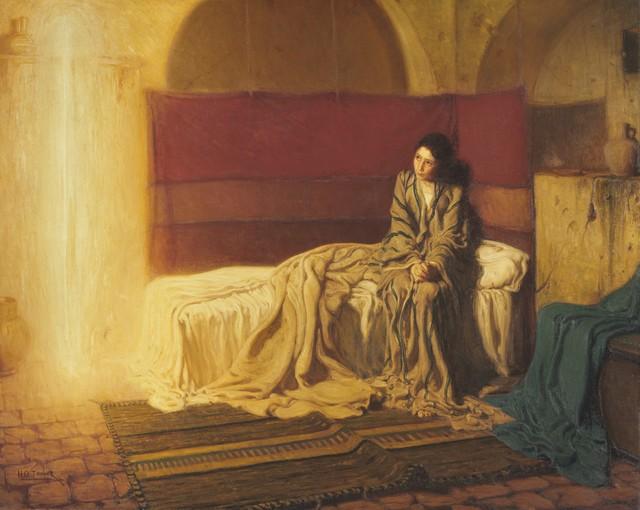 Henry Ossawa Tanner, 'The Annunciation', 1898, Philadelphia Museum of Art