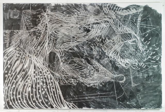 , 'Stricher (7),' 2017, Galerie Krinzinger