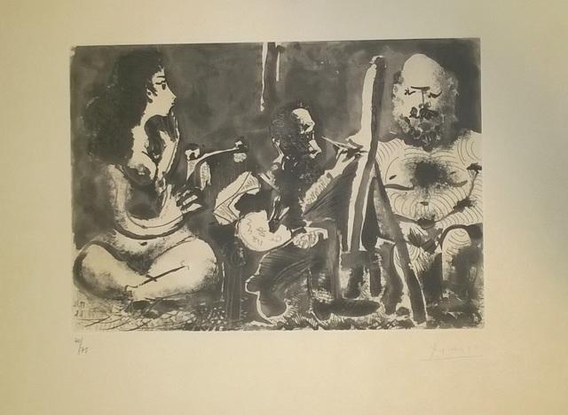 Pablo Picasso, 'Les Bleus de Barcelone', 1963, Wallector