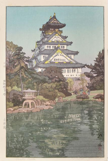 , 'Osaka Castle,' 1935, Ronin Gallery