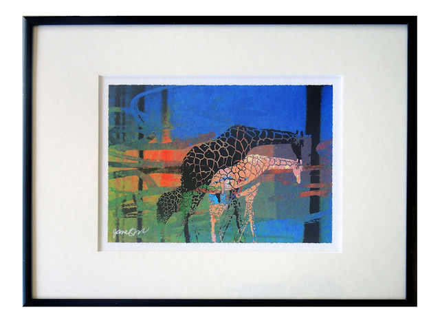 Jane Sklar, 'Giraffes', 2020, Photography, Digital Photography Collage, The Galleries at Salmagundi
