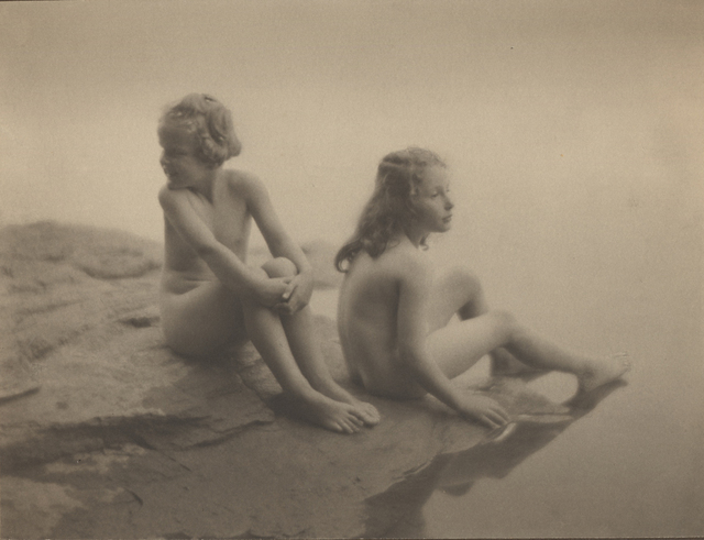 , 'Water Babies (Twin Lakes, CT, Florence Johns and Lina Biggar),' 1923, Robert Mann Gallery