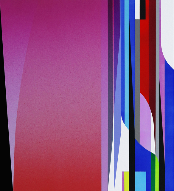 Dion Johnson, 'Mercury Curtain', 2019, Painting, Acrylic on paper, Bentley Gallery