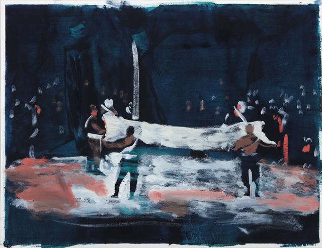 , 'Fold, Unfold,' 2017, Barnard
