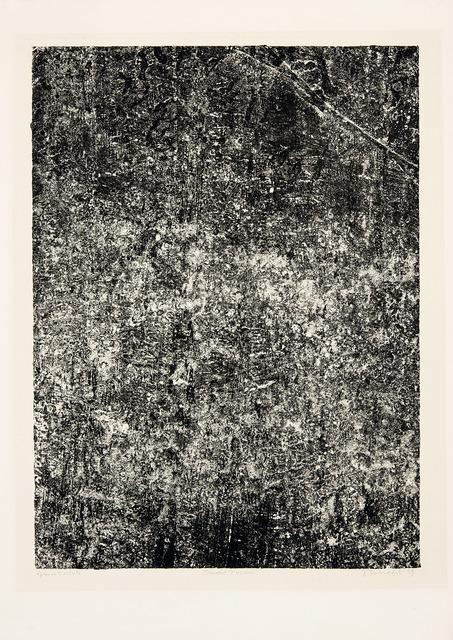 , 'Travail d'usure,' , Galerie Lelong & Co.