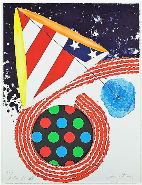 James Rosenquist, 'A Free for All', 1976, michael lisi / contemporary art