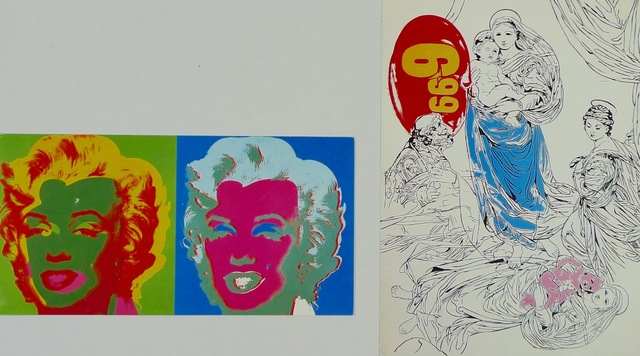 Andy Warhol, 'A Memorial Mass & A Memorial Lunch', 1987, Bengtsson Fine Art