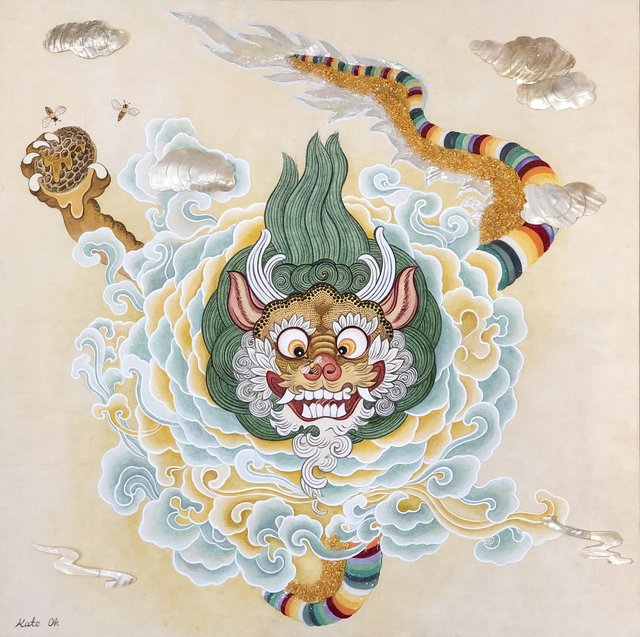 Kate Oh, 'Baby Yellow Dragon ', 2018, Kate Oh Gallery