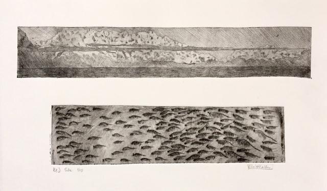 , 'Red Sea,' 2019, Greenhut Galleries