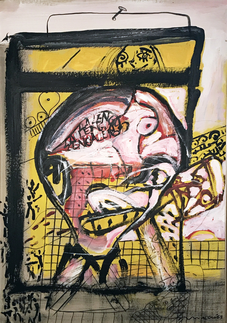 Rómulo Macció, 'La lengua', 1963, Galería Rubbers Internacional