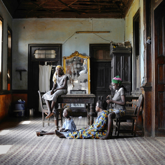 , 'Conforte with Godonou Dossou Family,' 2011, L'agence à Paris