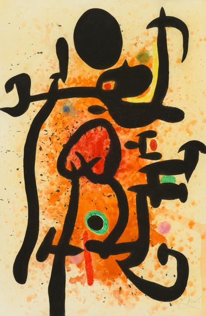 Joan Miró, 'Le Cracheur de Flammes', 1974, Galerie d'Orsay