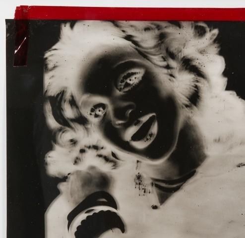 Andy Warhol, 'Unique acetate from Ladies & Gentlemen. Portrait of Easha Mccleary', ca. 1975, Ephemera or Merchandise, Acetate, MultiplesInc Projects