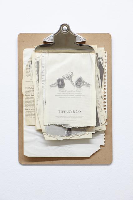 , 'UNTITLED,' 2011, ROCKELMANN  &