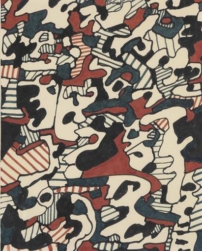 Jean Dubuffet, 'Logologie, 4 Janvier 1967', Christie's