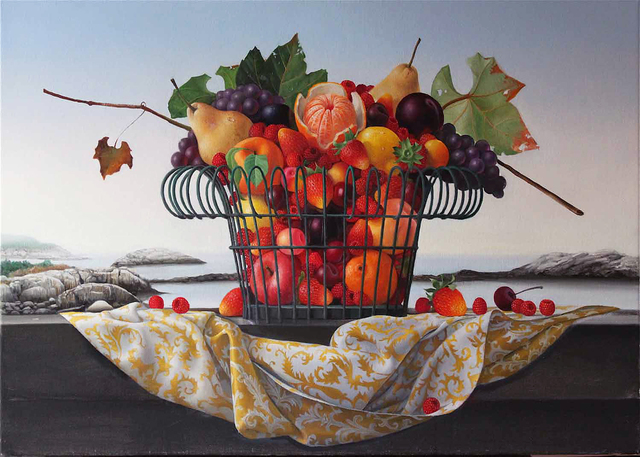 , 'Appledore, Basket of Fruit,' 2013, Clark Gallery