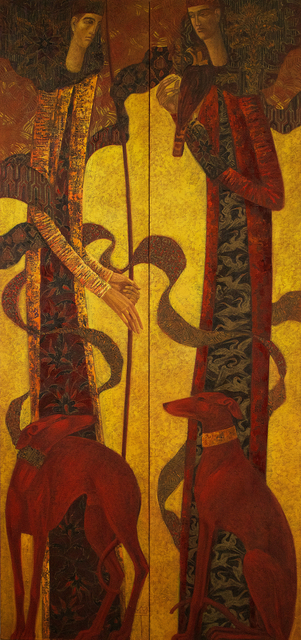 , 'Hunters diptych,' , Cadogan Contemporary