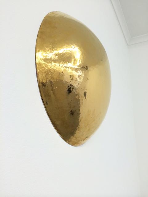 , 'Dome (gold),' 2015, Galerie pompom