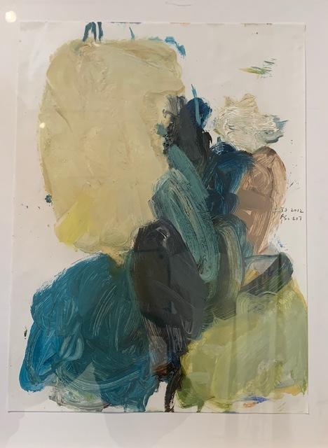 Terrell James, 'FS 617', 2012, Painting, Oil on vellum, Barry Whistler Gallery
