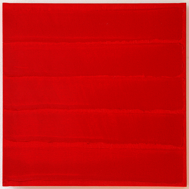 , 'Rouge horizontal,' 2014, Galerie Holtmann