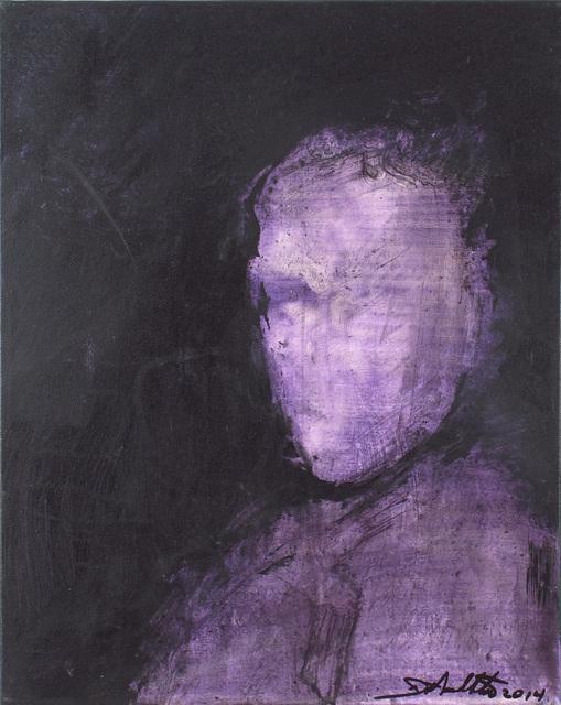 , 'Shadow Head Portrait ,' 2014, Woodward Gallery