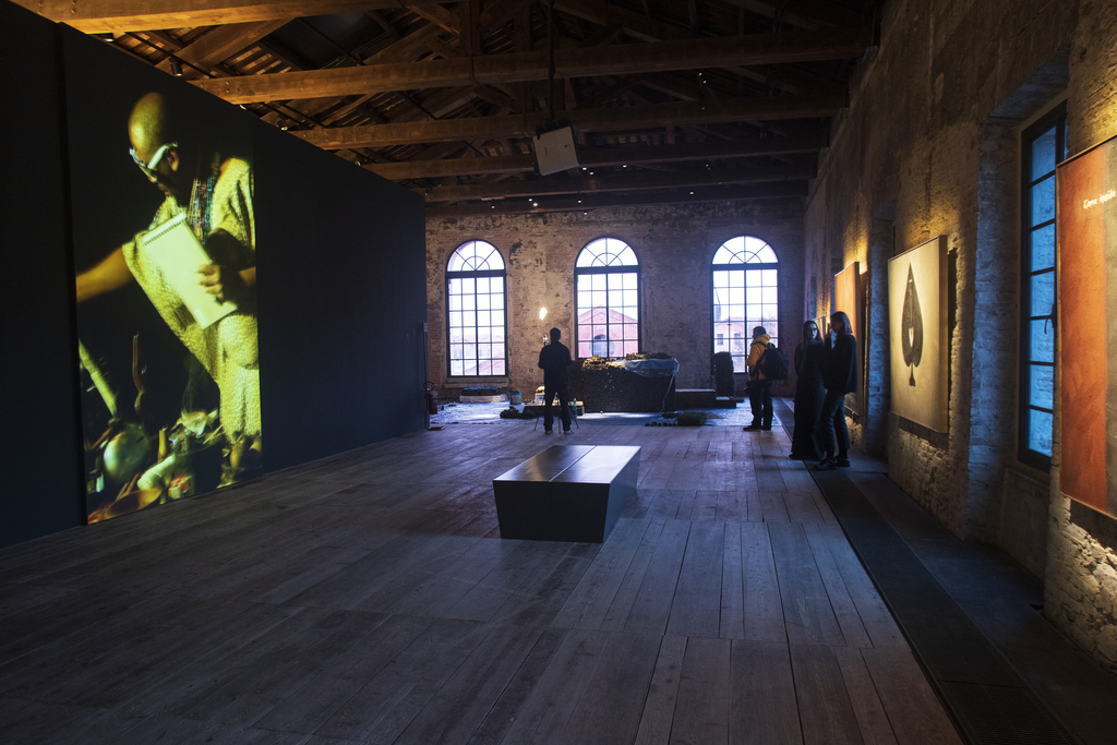 Installation view of the pavilion of the republic of South Africa, The Stronger We Become, at the 58th International Art Exhibition - La Biennale di Venezia, May You Live In Interesting Times. Photo by Italo Rondinella. Courtesy of La Biennale di Venezia.