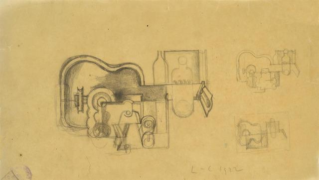 , 'Etude pour la Nature morte du Salon des Indépendants,' 1922, MARUANI MERCIER GALLERY