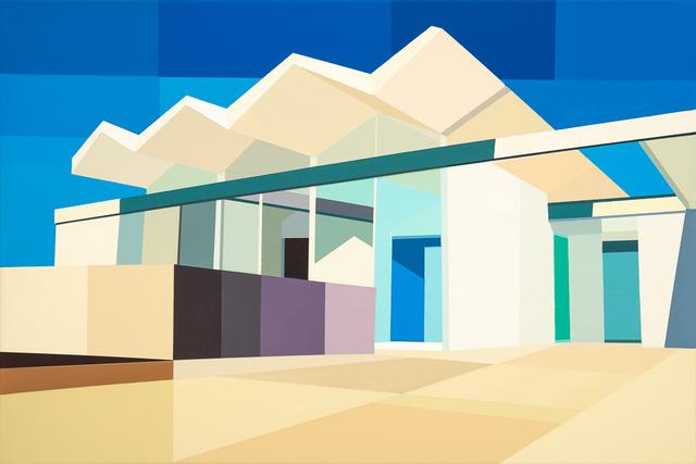 , 'Wexler Steel House - Zig Zag Roof,' 2017, Cynthia Corbett Gallery