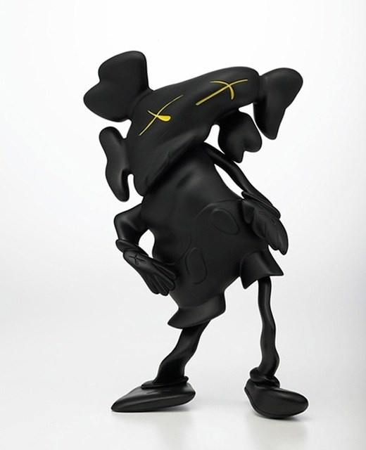 , 'KAWS x ROBERT LAZZARINI black,' 2010, 5ART GALLERY