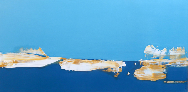 Martha Mcaleer, 'Sunrise at Shelter Island', Painting, Mixed Media, THE WHITE ROOM GALLERY