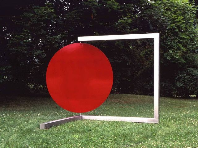 Roger Phillips, 'In & Out', 1997-2007, Sculpture, Stainless steel and painted aluminum, Bethesda Fine Art