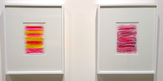 Don Kottmann, 'untitled (pink/red, on right)', 2016, Joseph Nease Gallery