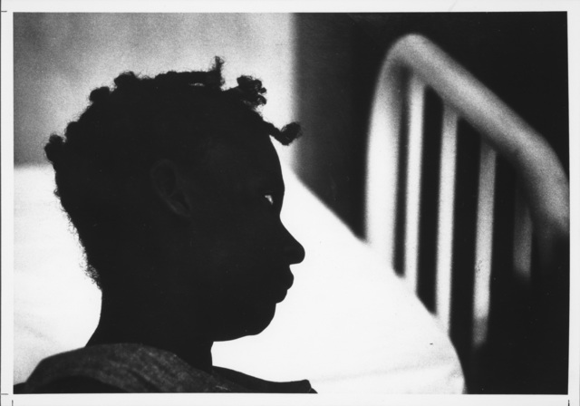 , 'Silhouette of Patient in Trance, Haiti,' 1959, Etherton Gallery