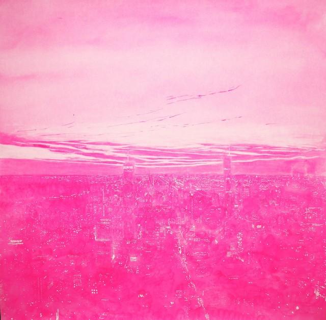 , 'Pink City,' 2015, Galeria Lume