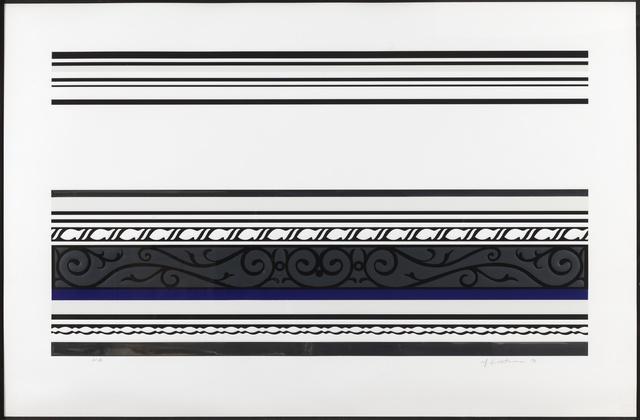 Roy Lichtenstein, 'Entablature IX (Corlett 146)', 1976, Forum Auctions