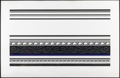 Roy Lichtenstein, 'Entablature IX (Corlett 146),' 1976, Forum Auctions: Editions and Works on Paper (March 2017)