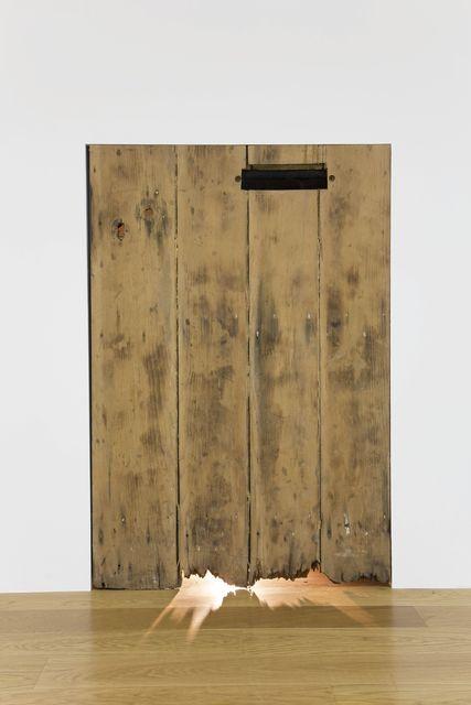 , 'Entrance door (Rustic),' 2013, Galerie Jocelyn Wolff