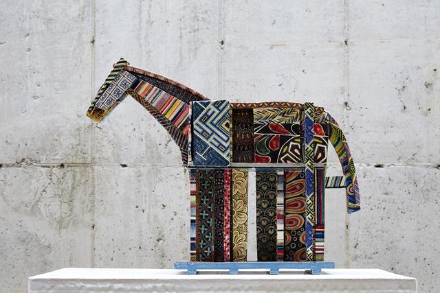Shin Sang Ho, 'Minhwa horse', 2013, Leehwaik Gallery