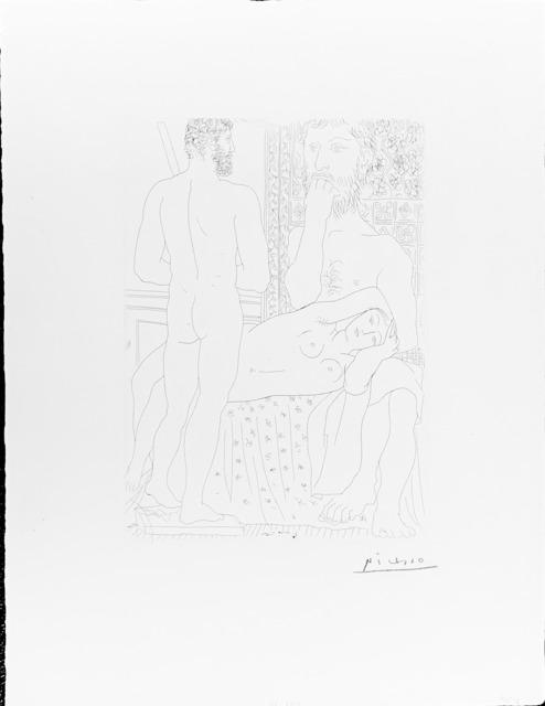 Pablo Picasso, 'Sculpteur, Modele Couche et autoportrait en Hercule sculpte ', 1933, Fairhead Fine Art Limited