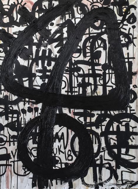 , 'Composition in Black 1,' 2019, Aicon Gallery