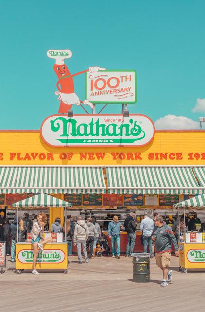 , 'Nathan's,' 2016, Duran Mashaal