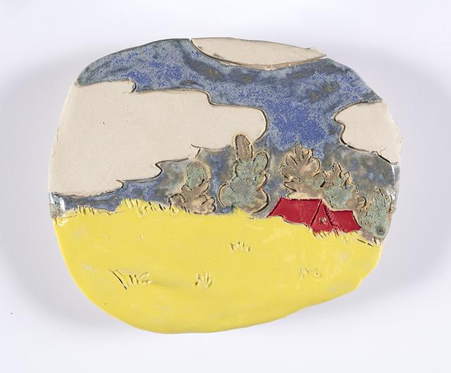 , 'House (Plate),' 2018, Steve Turner