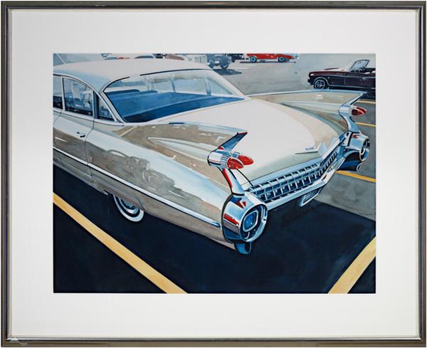 , ''59 Cadillac,' 1994, David Barnett Gallery