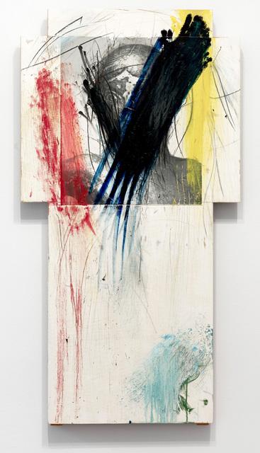 , 'Cross (overpainting),' 1987, Setareh Gallery