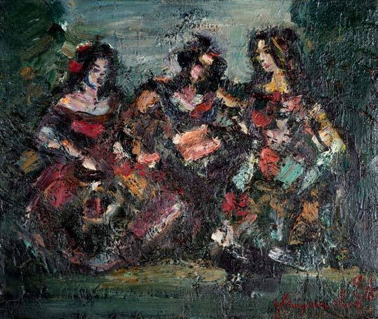 , 'A Conversation,' 1996, Ararat Gallery
