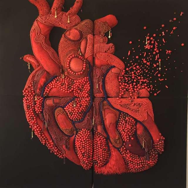 , '心 Heart,' 2016, Shanghai Gallery of Art