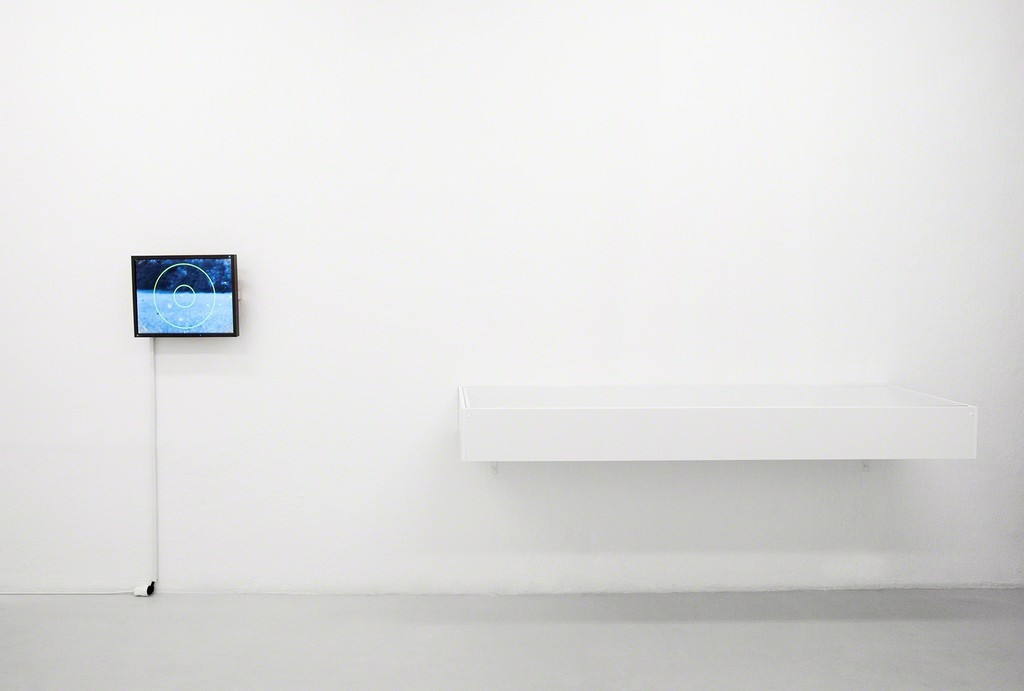 Exhibition view: Christian Marclay - Graphic Scores: left: SCREEN PLAY right: Showcase with TO BE CONTINUED Photo: Verena Nagl