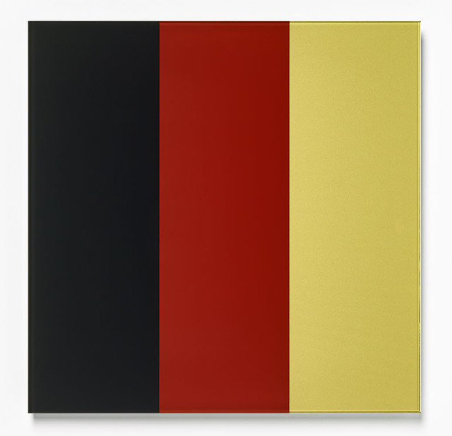 , 'Schwarz-Rot-Gold IV (Black-Red-Gold IV),' 2015, Carolina Nitsch Contemporary Art
