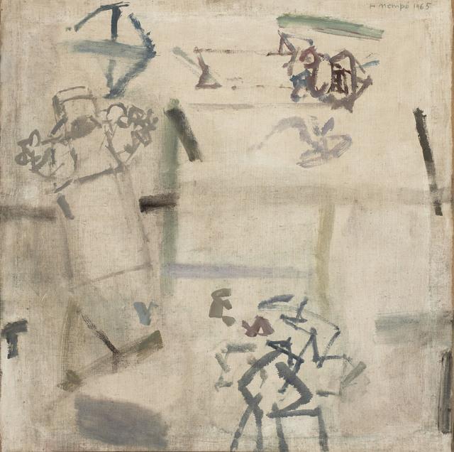 Manuel Hernández Mompó, 'Campesinos hablando', 1965, Galería Daniel Cardani
