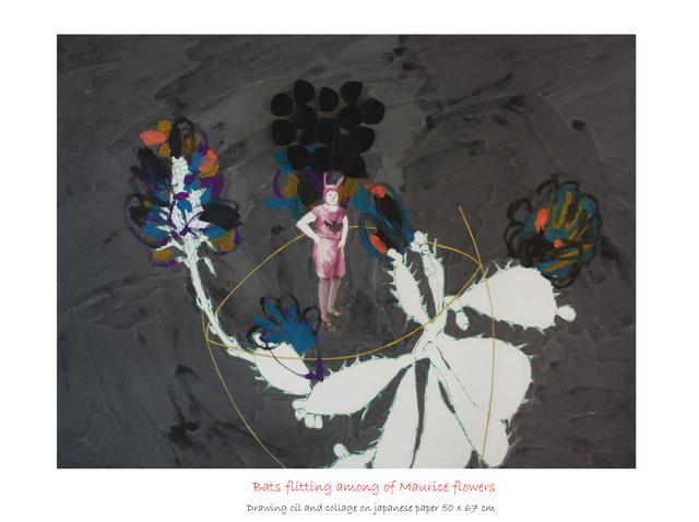 , 'Murciélagos mariposeando entre las flores de Vlaminck,' ca. 2015, Anquins Galeria